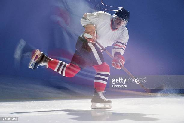 ice hockey player - ice hockey stick stock pictures, royalty-free photos & images