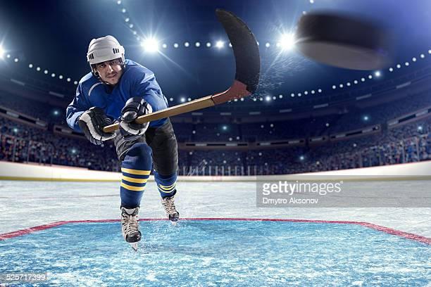 Pontuação Jogador de hóquei no gelo