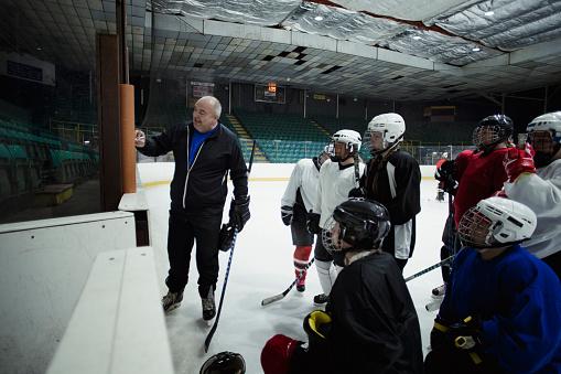 Ice Hockey Practice Session 1040449786