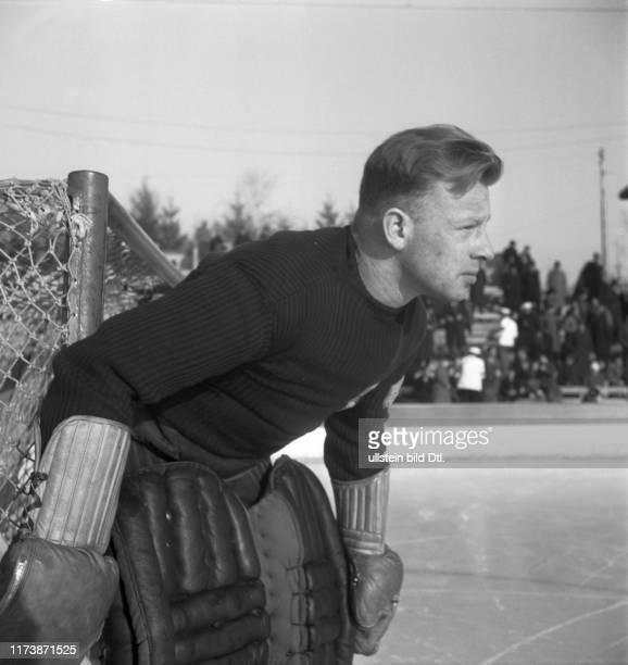 Ice Hockey World Championship Zurich 1939: goalkeeper