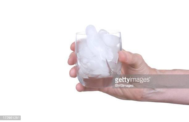 氷のグラス