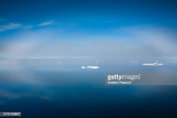 ice in barrow strait, qikiqtaaluk region, nunavut, canada. - pack ice stock pictures, royalty-free photos & images