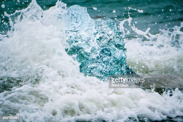 Ice in the waves