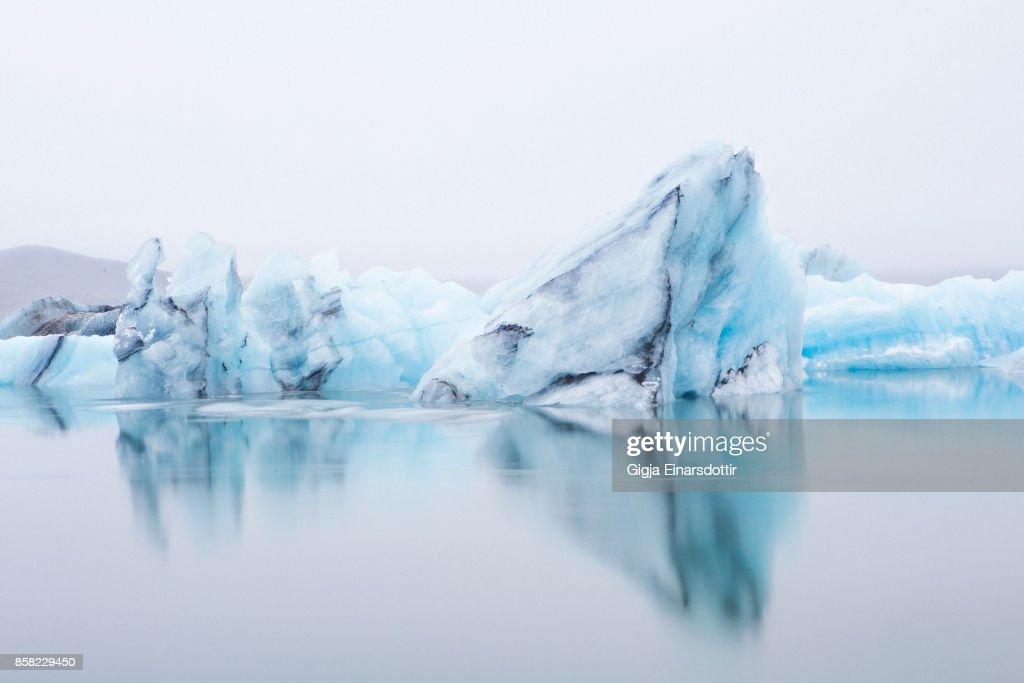 Ice Lagoon : Stock-Foto
