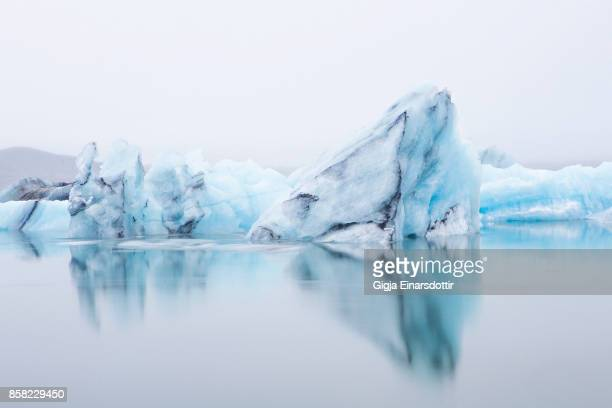 ice lagoon - arctic stock pictures, royalty-free photos & images