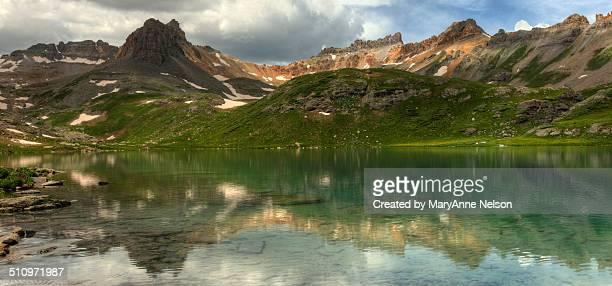 Ice lake reflection
