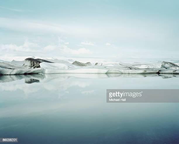 Ice Melt in Jökulsárlón, Iceland