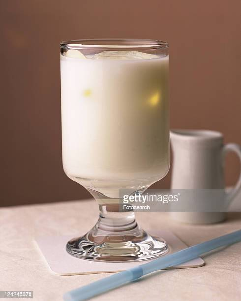 Ice Milk, Full Frame, Front View, Differential Focus