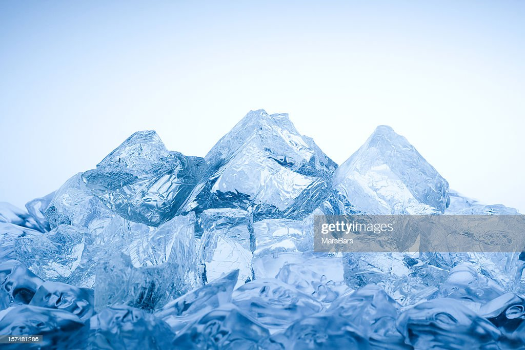 Ice mountain : Stock Photo