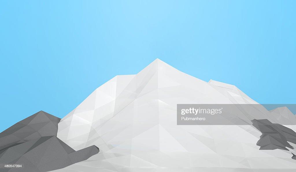 Montañas de hielo : Foto de stock