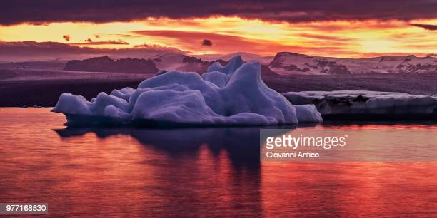 Ice On Fire Tones Stock Photo - Getty Images