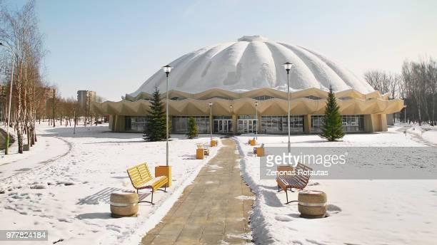 ice palace - 丸屋根 ストックフォトと画像