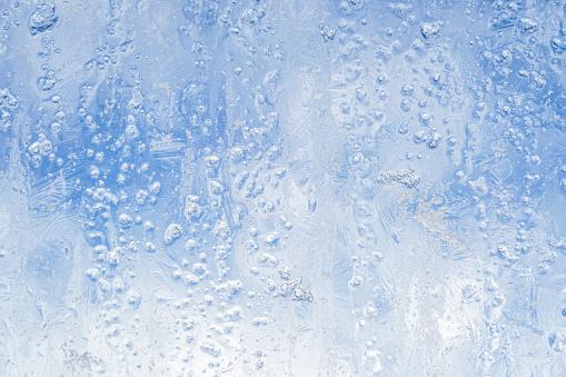 Ice patterns on a window - gettyimageskorea