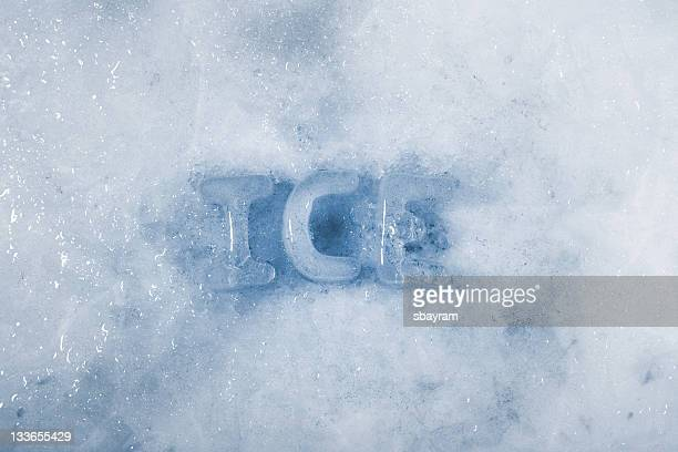 ice - font stock pictures, royalty-free photos & images