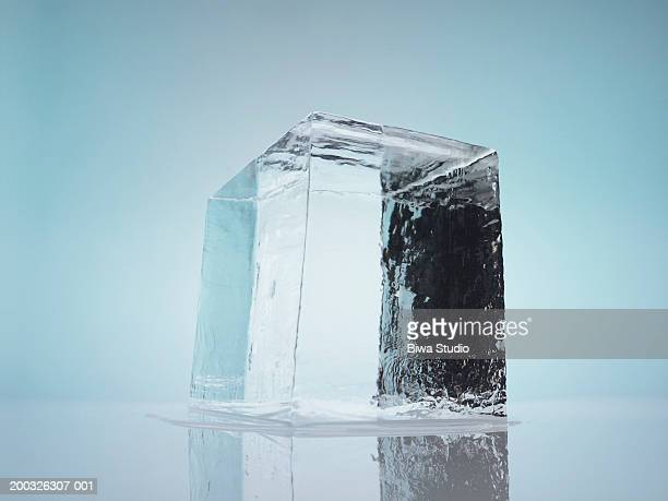 ice - ice cube stock pictures, royalty-free photos & images