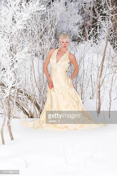 Ice Princesse dans la neige