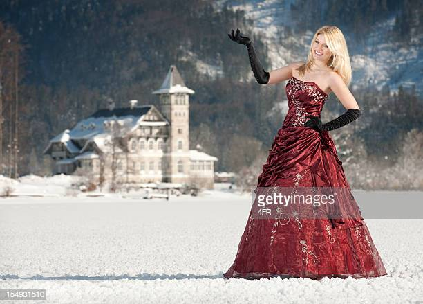 ice princess (xxxl) - formal glove stock pictures, royalty-free photos & images