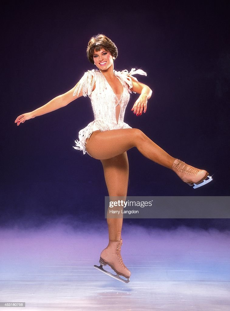 Ice Skater Dorothy Hamill Poses For A Portrait In 1984 Los Angeles California