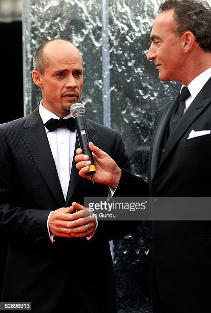 Ice skater Kurt Browning attends the 2008 Canada's Walk of Fame held at the Four Seasons Performing Arts on September 6 2008 in Toronto Canada
