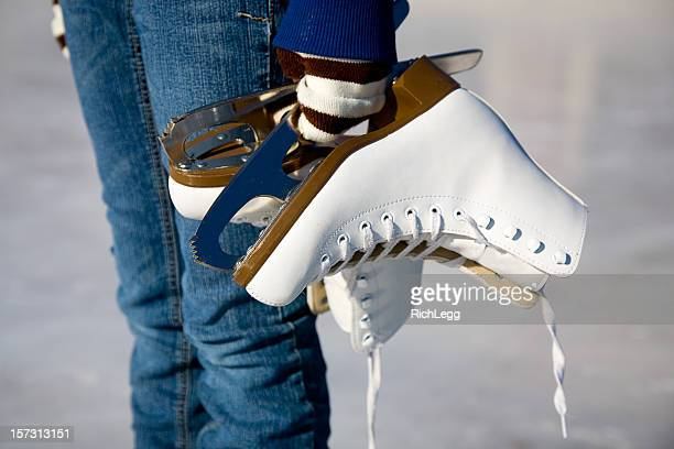 ice skater - ice skate stock pictures, royalty-free photos & images