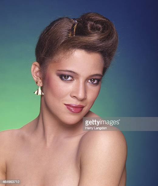 Ice Skater Tai Babilonia poses for a portrait in 1980 in Los Angeles California