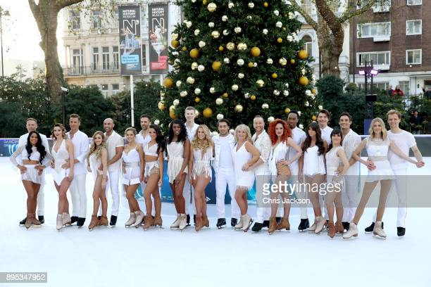 Ice skaters and contestants Antony Cotton and Brandee Malto Candice Brown and Matt Evers Brianne Delcourt and Alex Beresford Stephanie Waring and...