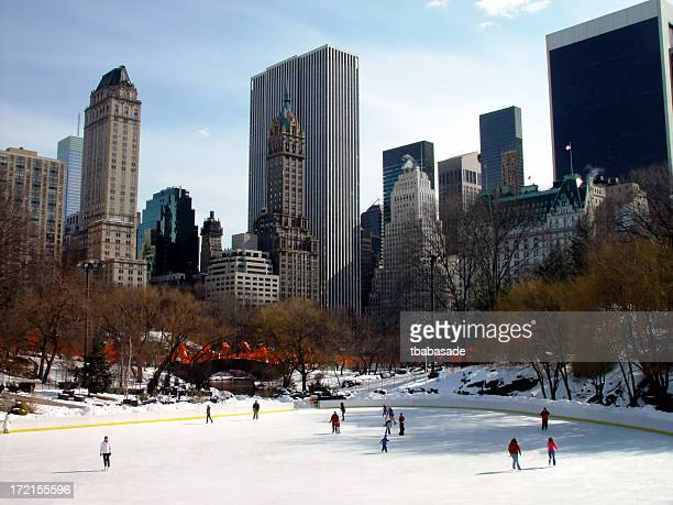 Ice Skaters at Central Park