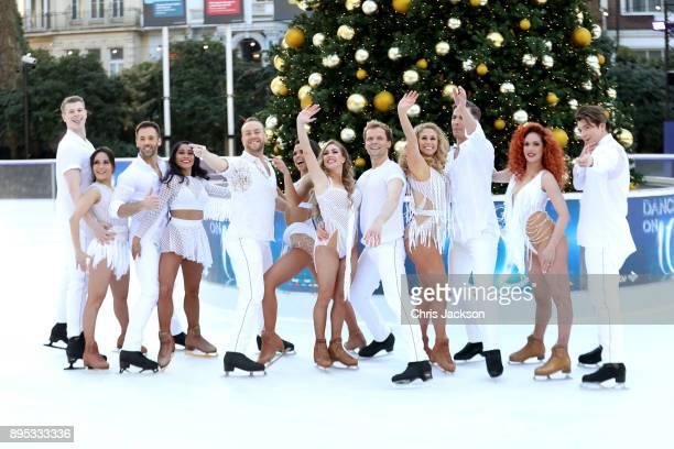 Ice skaters Hamish Gaman Ale Izquierdo Sylvain Longchambon Brandee Malto Dan Whiston Vanessa Bauer Brianne Delcourt Mark Hanretty Alex Murphy Matt...
