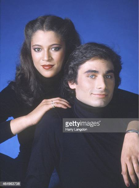 Ice Skaters Randy Gardner and Tai Babilonia pose for a portrait in 1980 in Los Angeles California