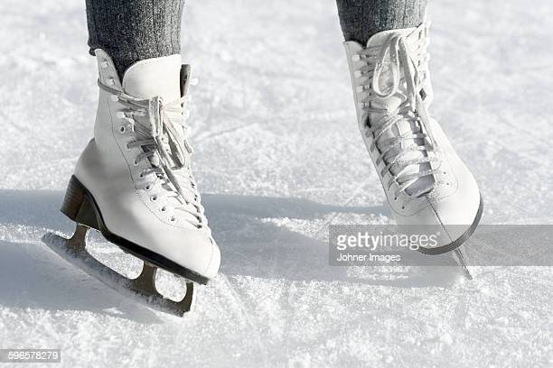 Ice skates, close-up
