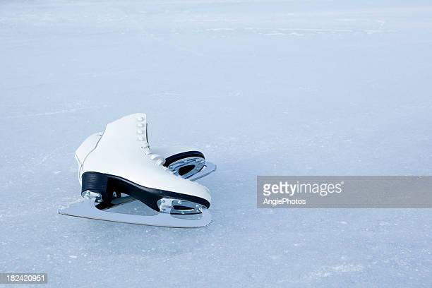 ice skates - ice skate stock pictures, royalty-free photos & images