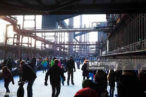 Eislaufen industrielle Erbe