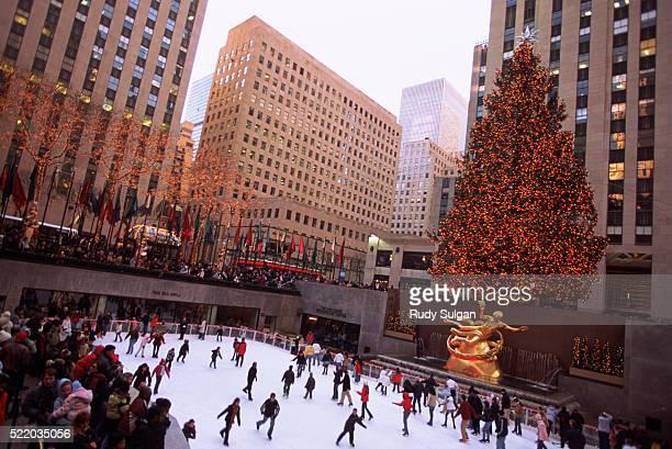 Ice Skating in Rockefeller Center