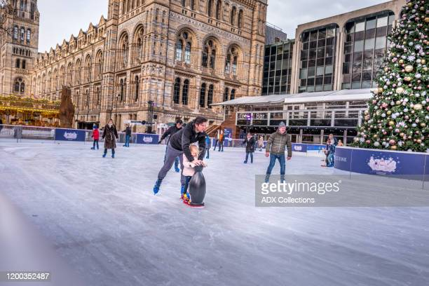 ice skating - winter sports event stock pictures, royalty-free photos & images