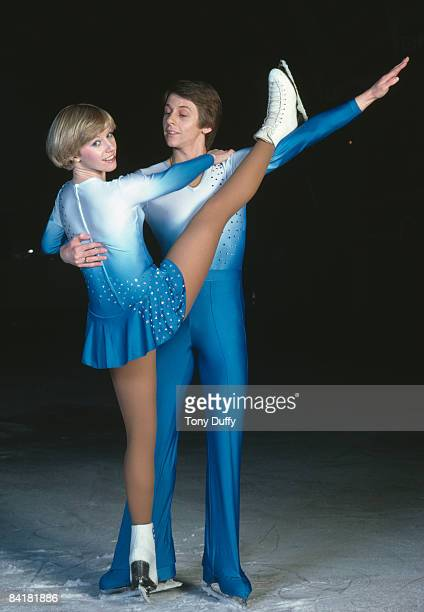 Ice skating team Karen Barber and Nicholas Slater 1981