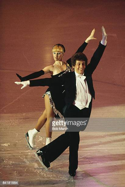 Ice skating team Karen Barber and Nicholas Slater at the World Championship Gala 1983
