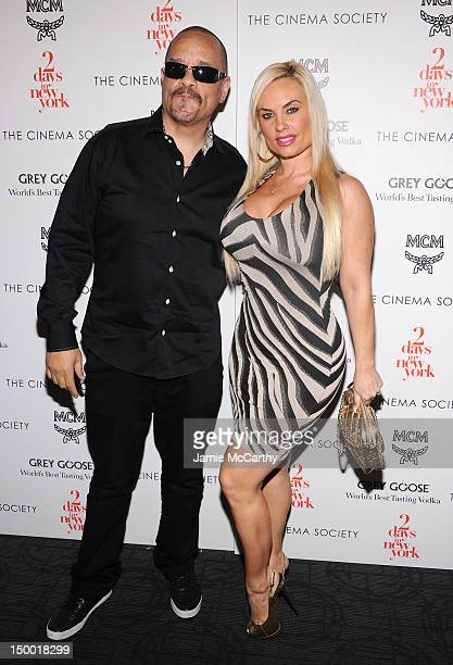 Ice T and Coco attend The Cinema Society with MCM Grey Goose screening of Magnolia Pictures' '2 Days in New York' at Landmark's Sunshine Cinema on...