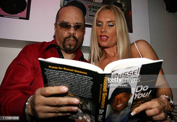 Ice T and CoCo during Russell Simmons Do You Book Launch Hosted by Russell Simmons at Stereo in New York City New York United States