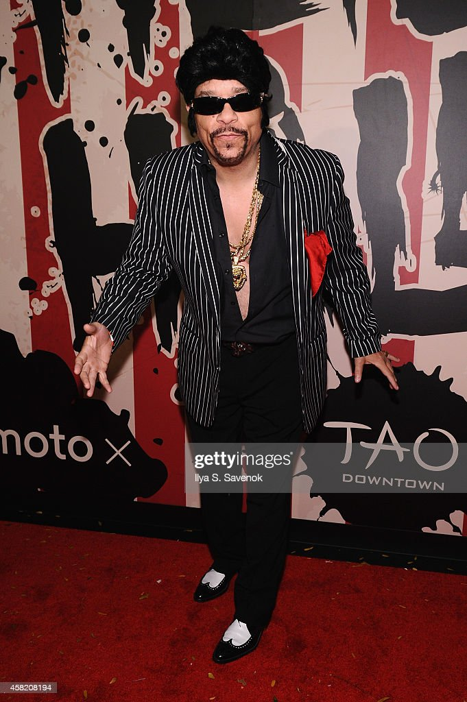 Ice T attends Moto X presents Heidi Klum's 15th Annual Halloween Party sponsored by SVEDKA Vodka at TAO Downtown on October 31, 2014 in New York City.