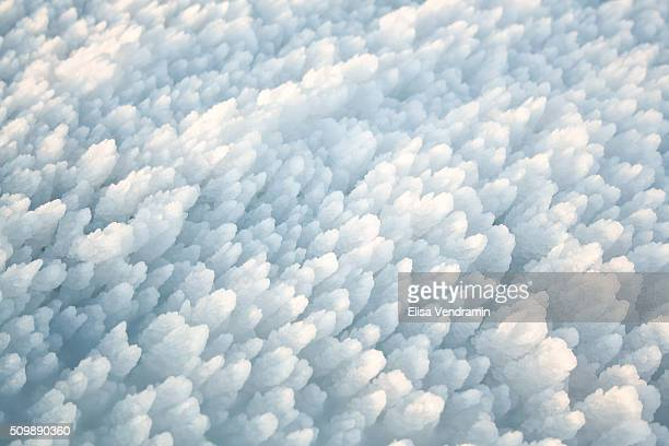 Ice texture Iceland January 2012