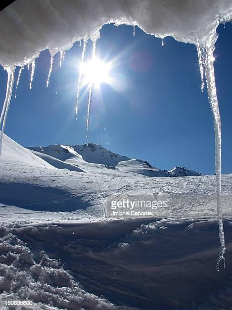 Ice with sun