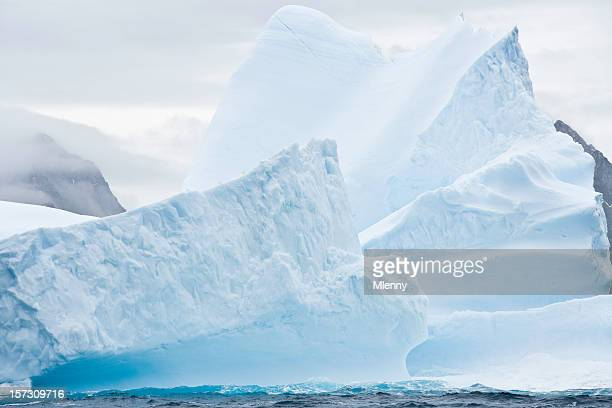iceberg antarctica detail - mlenny stock pictures, royalty-free photos & images