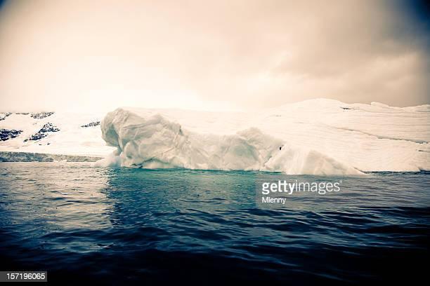 eisberg antarktis-halbinsel (bearbeiten - mlenny stock-fotos und bilder