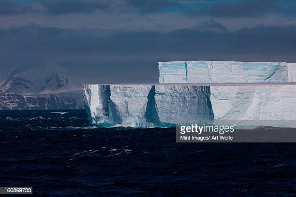 iceberg, antarctica - pack ice stock pictures, royalty-free photos & images