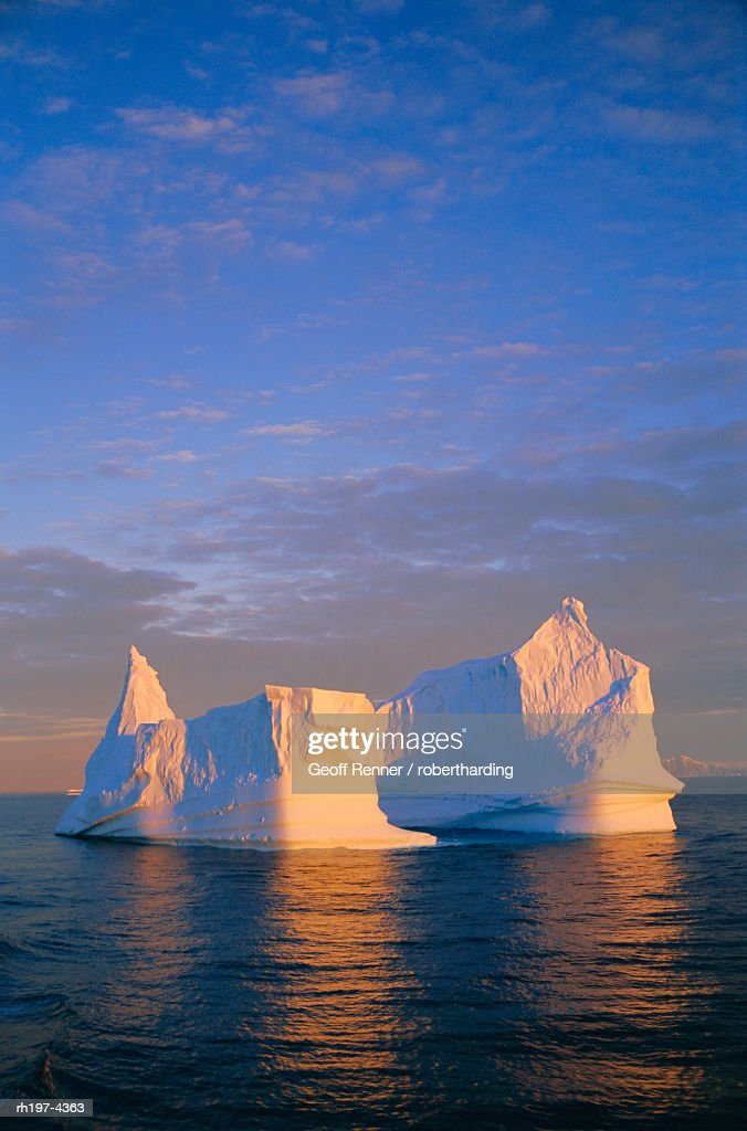 Iceberg, Antarctica : Foto de stock