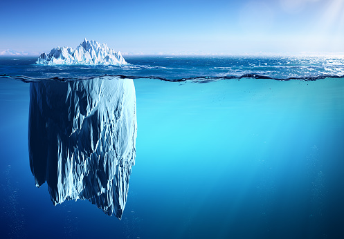 Iceberg - Appearance And Global Warming Concept 673383742