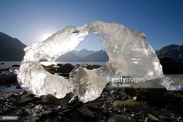 Iceberg at Sunset, Glacier Bay, Alaska