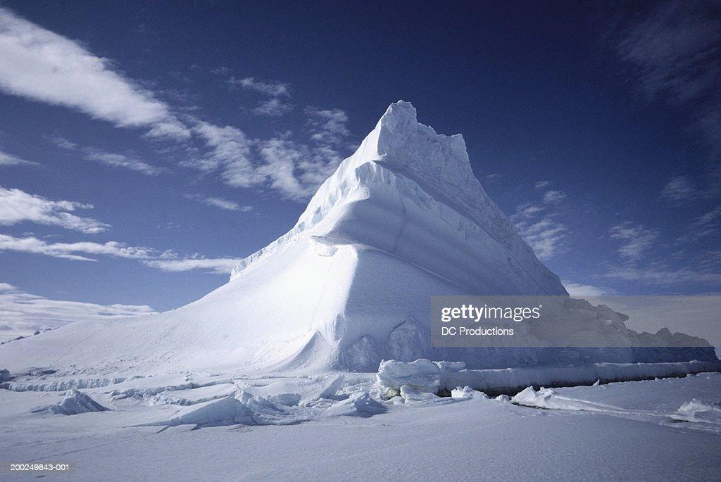 Iceberg, Baffin Island, Canada : ストックフォト