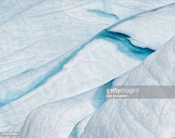 Iceberg Closeup - ice and snow