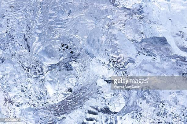 iceberg details - nature stockfoto's en -beelden